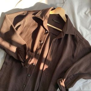 ‼️LAST CHANCE‼️ DKNY button up oversized shirt